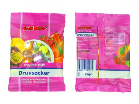 Druvsocker Tropisk mix