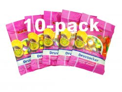 Druvsocker Tropisk mix 10-pack