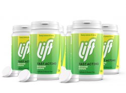 Druvsocker LIFT fd Glucotabs Citron-Lime REFILL 6-pack
